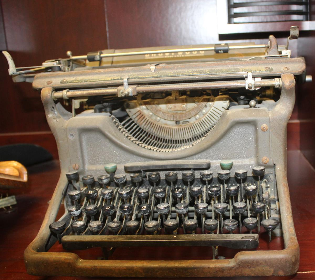 Column: It's time to take the typewriter home