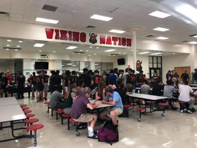 Seminole, Northeast football teams bond over tragedies