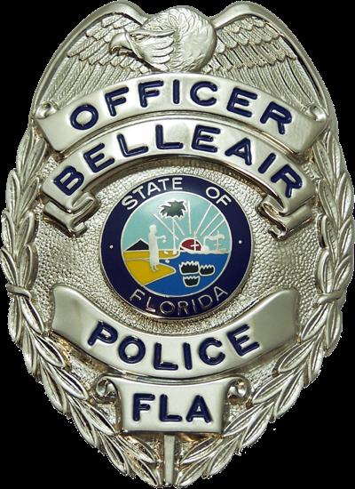 Belleair Police Badge