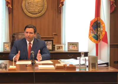Gov. DeSantis issues statewide stay-at-home order