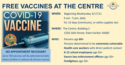 Vaccines at the Centre