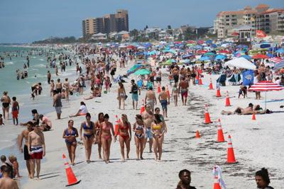 Pinellas' beach capacity dashboard opening Saturday morning