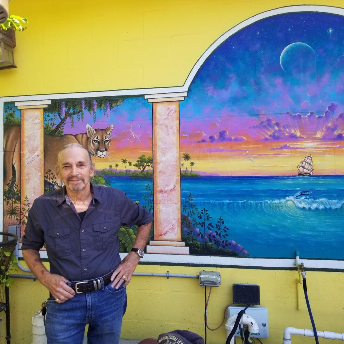 Art auction to benefit Gulfport mural artist
