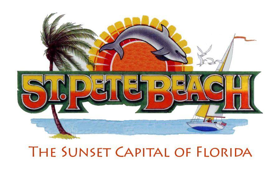 st pete beach logo