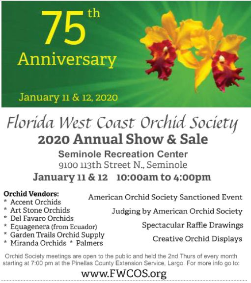 FWCOS 75th Anniversary Show and Sale