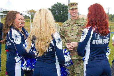 Pro football team cheerleaders to visit troops on Fort Hood