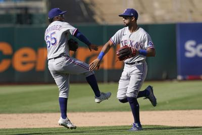 Rangers Athletics Baseball