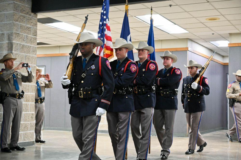 Color Guard enters