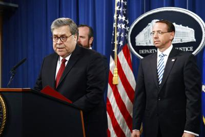 Barr: No collusion between the Trump campaign and Russian government hackers