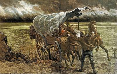 Prairie windstorm