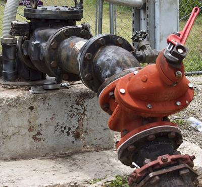 Bartlett gets new water pump