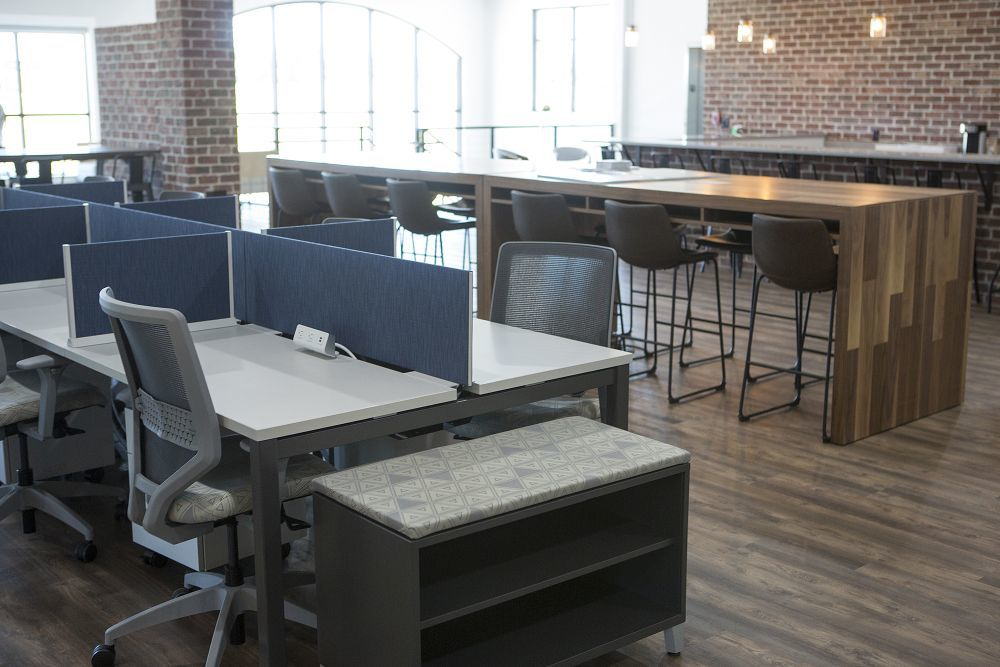 Shine Branch Is Opening The First Co Working Space In The County At Belton  Skyline, The Cityu0027s Newest Three Story Commercial Building.