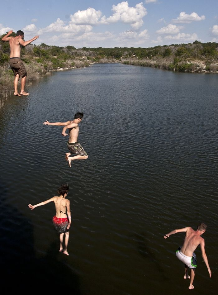 Cliff jumping | Gallery | tdtnews com