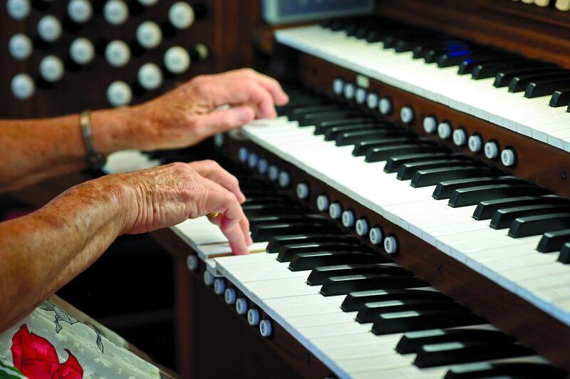 Organ rehearsal