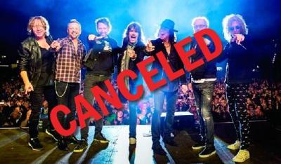 Foreigner canceled