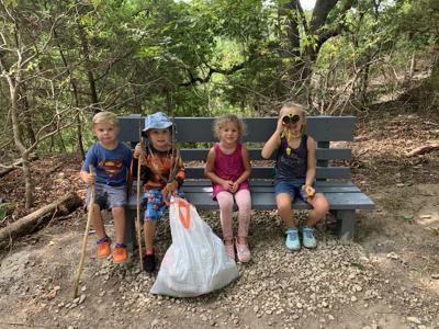 Chalk Ridge Falls Park cleanup