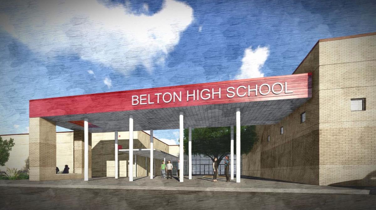 Belton High improvements