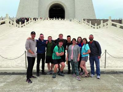 From Temple to Taiwan: Seniors spend their last spring break taking part in mission trip
