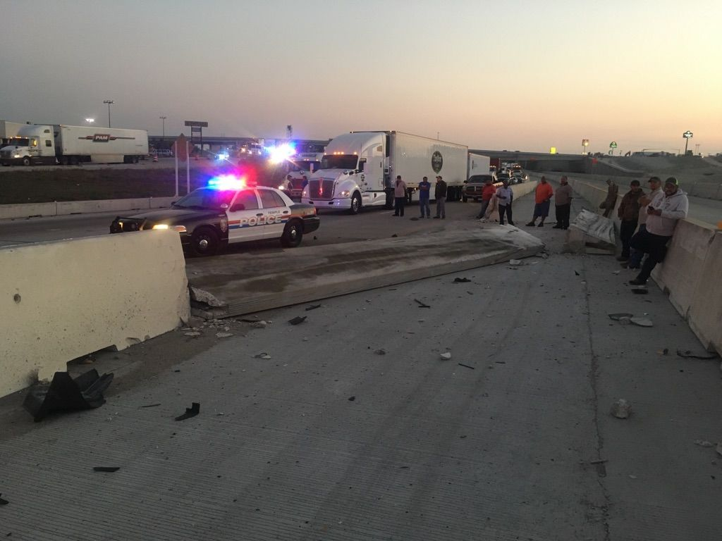 Wreck slows southbound I-35 traffic in Temple | News | tdtnews com