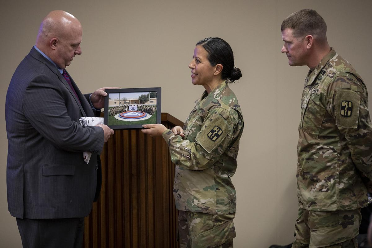 Fort Hood soldiers return Temple flag to city | News