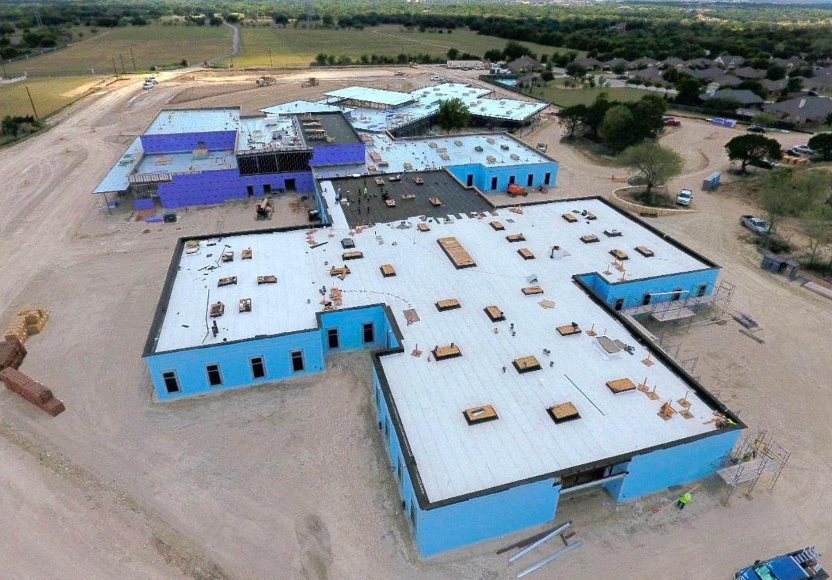 Charter Oak Elementary School construction