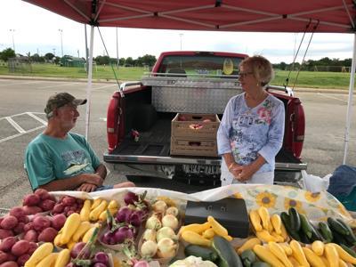 Farmers markets open