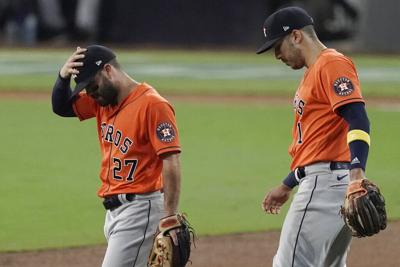 Astros fall to Rays