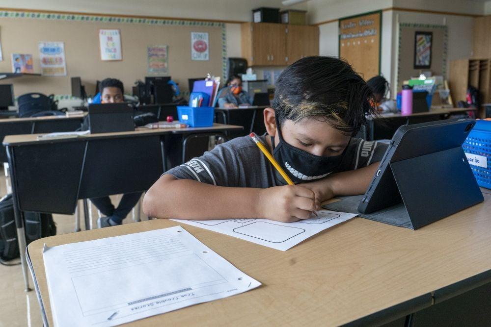 Virus Outbreak Mask Guidelines school