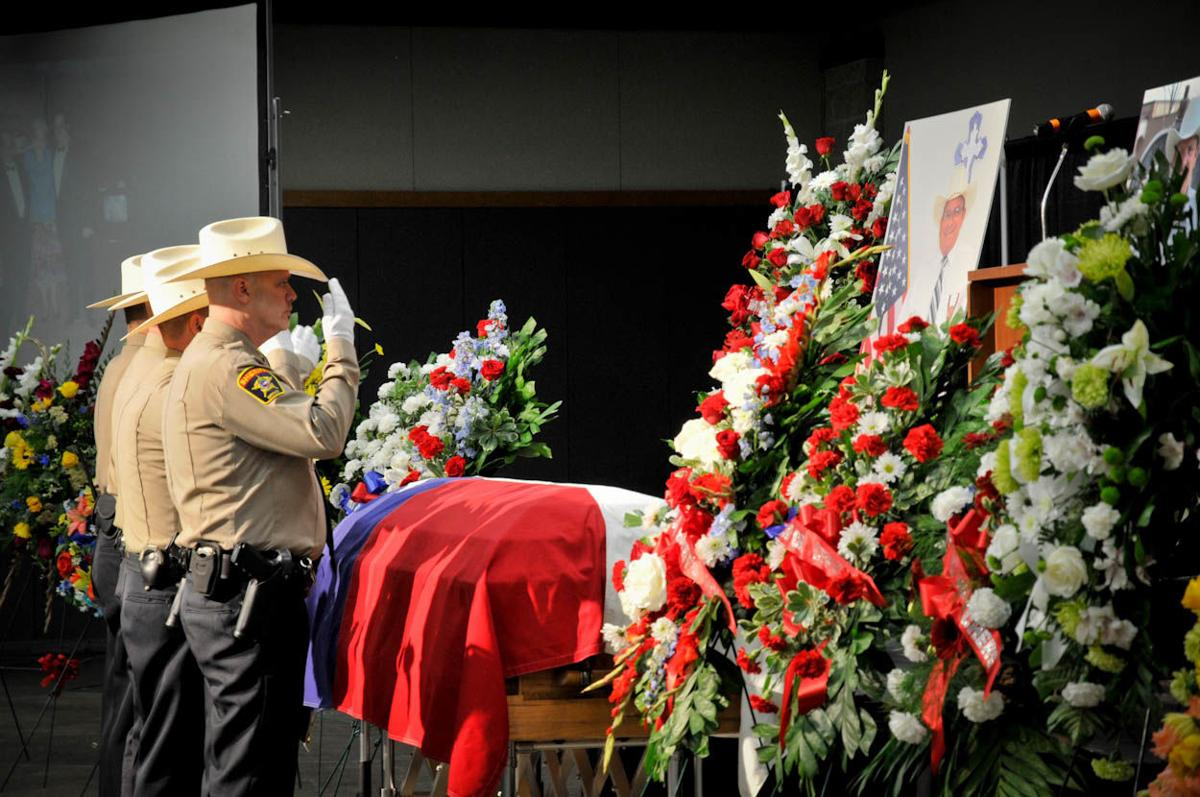 Milam County Sheriff Remembered At Funeral Service News Tdtnews