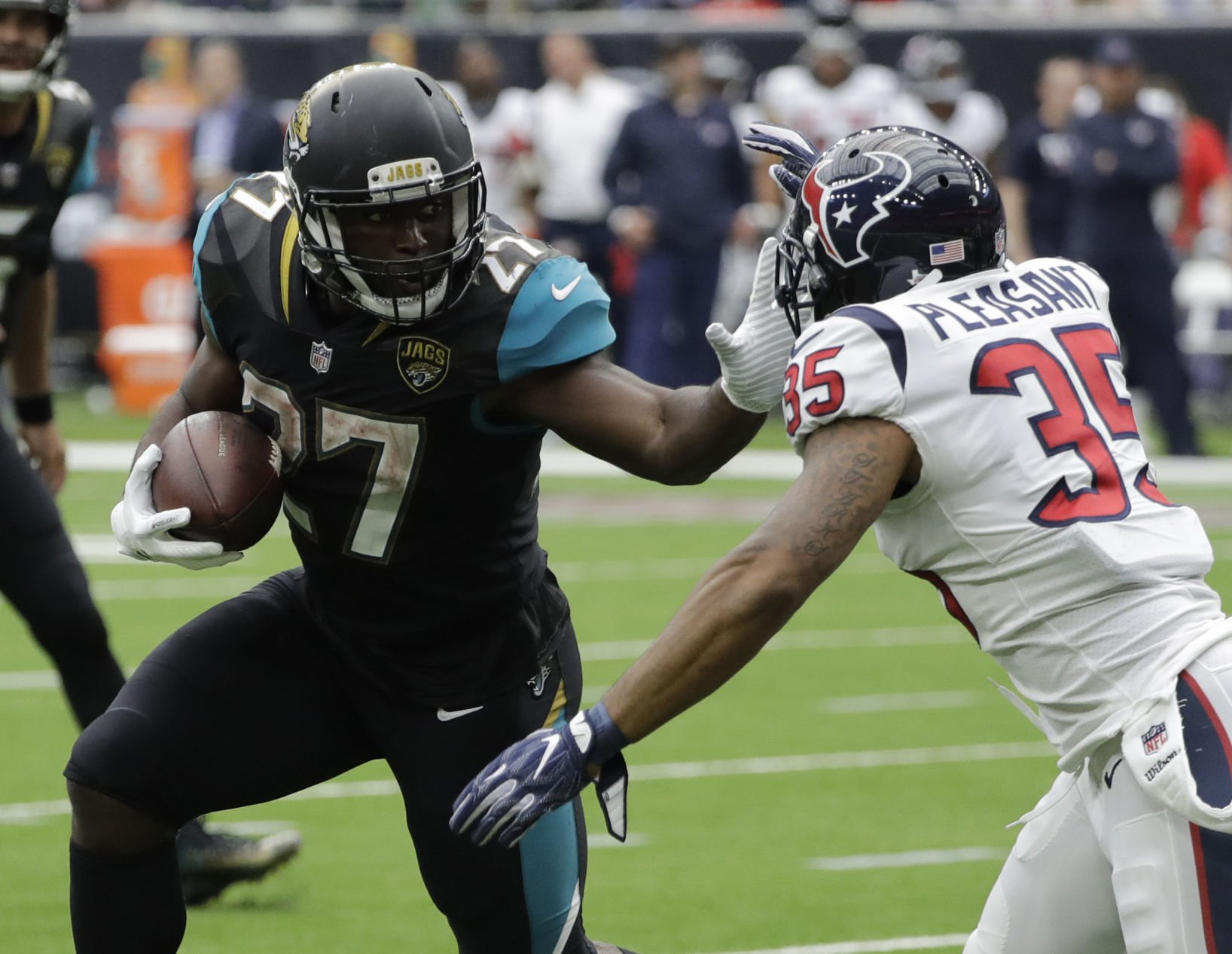 Jaguars beat Houston 29-7 in season opener