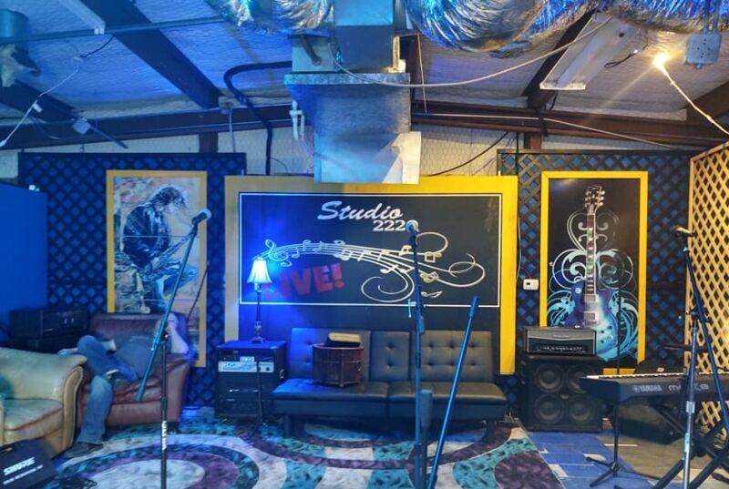Inside the blue room