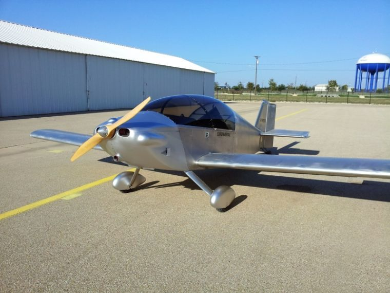 Man's plans take flight: Local resident builds homemade airplane