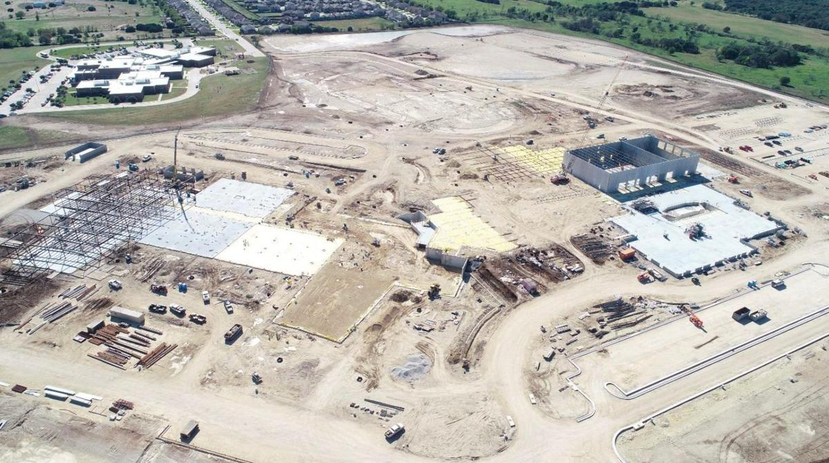 Lake Belton High School construction