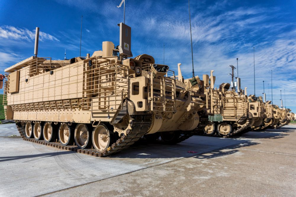 Army Testing New Vehicle At Fort Hood