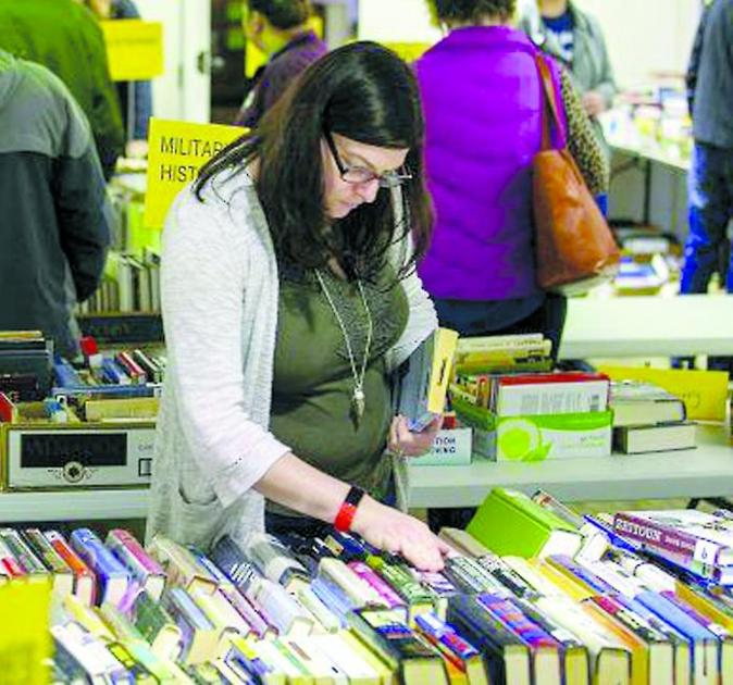 Mid-winter used book sale starts Feb. 26 at Temple library