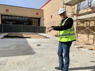 Belton High School construction