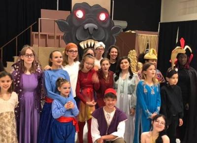 'Aladdin Jr.' cast