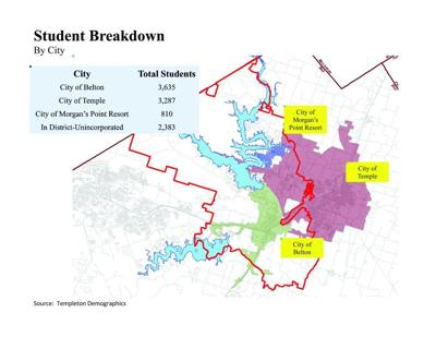 Disparity between school district, city boundaries causes