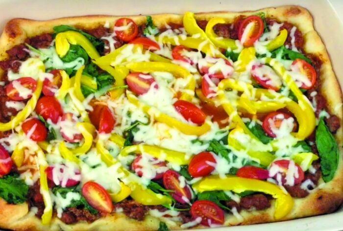 Recipe: Deep dish pizza casserole is a kid friendly dinner
