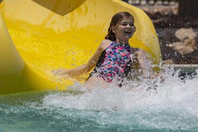 'Everyone's chillin'': Students make a splash at Wildcat Mentor swim party
