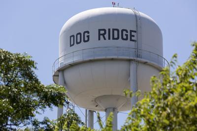 Dog Ridge Water Tower closeup