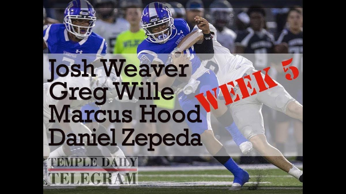 Week 5  |  Central Texas Area Football Podcast