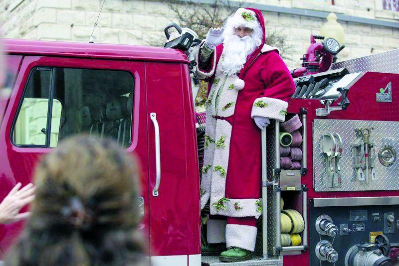 Belton Christmas parade