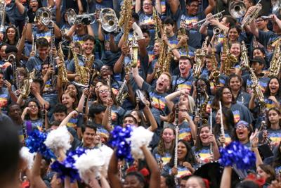 THS Wildcats bring the energy early for morning pep rallies