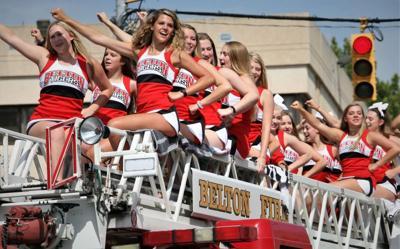 Cheerful parade