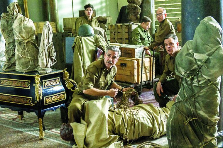 Clooney s WWII art heist paints over historical drama ... 11627eccda