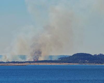 Dana Peak Park fire