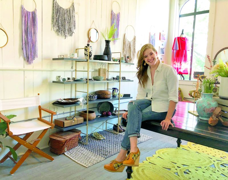 A creative new business at The Hub: Art, shopping come together at Sugarwoods Studio