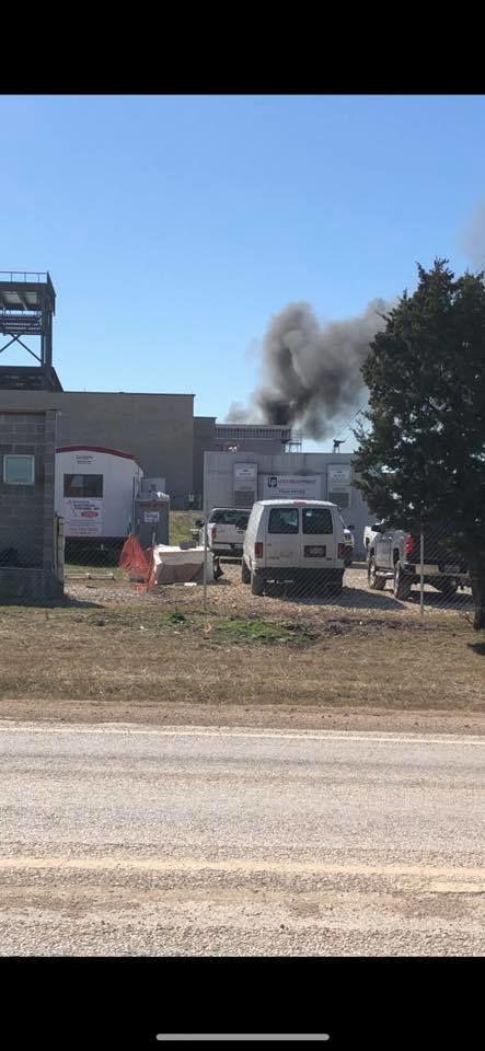 Lake Belton High School fire