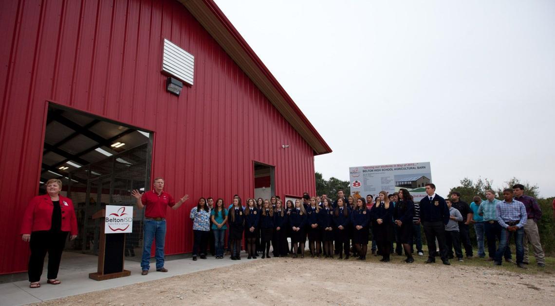 Belton ISD dedicates new Ag barn   News   tdtnews.com